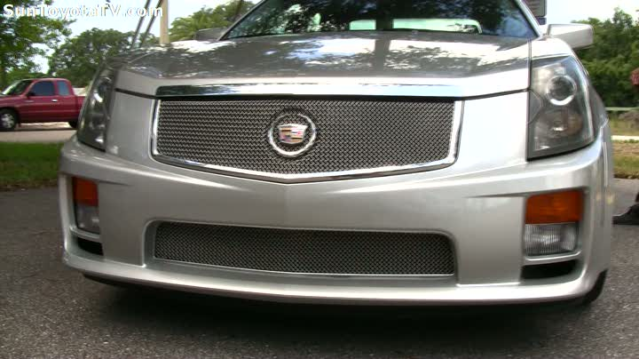 Cadillac with Corvette engine 2005 CTS V over 400hp SunAutoCenter