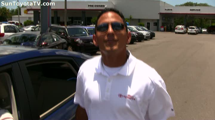 Sun Toyota Prius Hybrid customer testimonial 46mpg