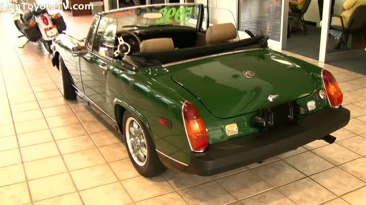 Sun Toytota has a Midget 1979 MG Midget